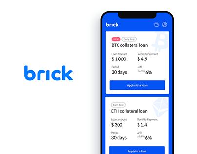 brick   Mobile Loan Service