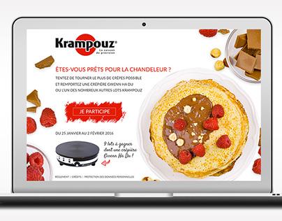 Graphisme web – Jeu Chandeleur – Krampouz