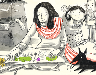Didi and the Colourful Treasure: Pratham Books
