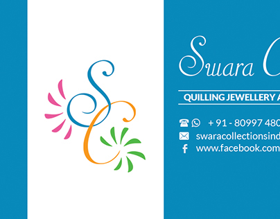 Logo and Business Card for Swara Collections