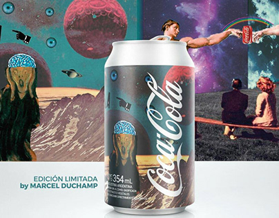 Coca Cola by Marcel Duchamp