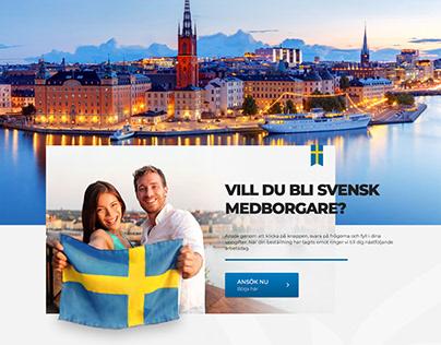 Svensk Medborgare — Website