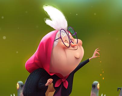 Bird Lady (with animated short)