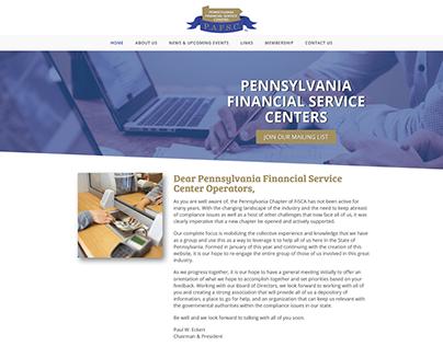 Pennsylvania Financial Service Centers Website