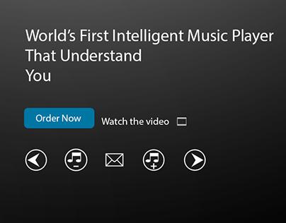 AI-Music Player Web_UI/UX