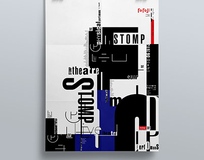 "Poster ""STOMP"""