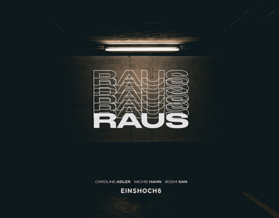 RAUS - Single Artwork