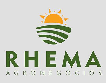 Logotipo Rhema Agronegócios