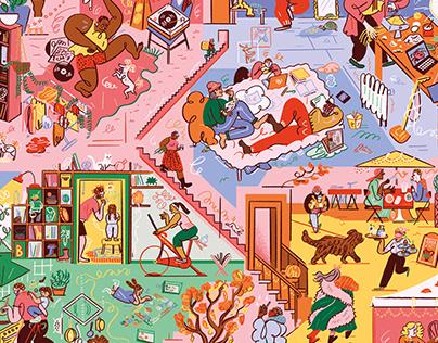 Puzzle: Homestories