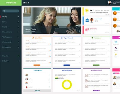 Intranet with Features