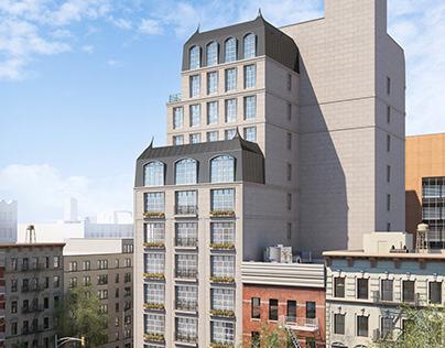 Residential Building, New York
