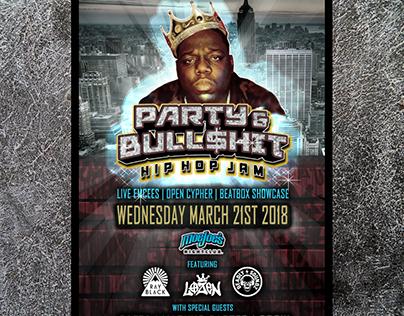 Party & Bull$hit Social Square