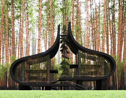 Twin Sisters House in Latvia by Milad Eshtiyaghi