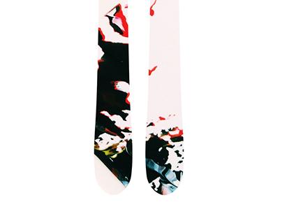 Paint Based Ski Designs