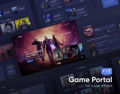UX Case Study - Game Portal XYZ
