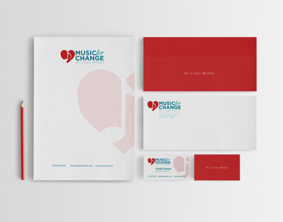 Music for Change Branding/Collateral