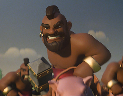 Clash of Clans 'Ride of The Hog Riders'