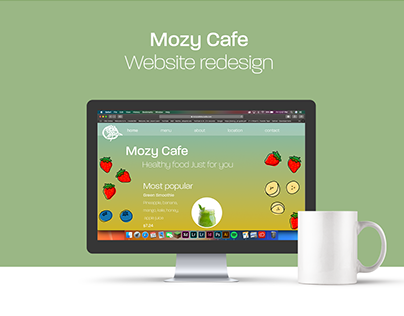 Mozy Cafe website