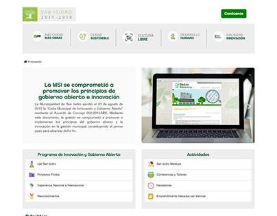 Sitio web de transferencia de gestión