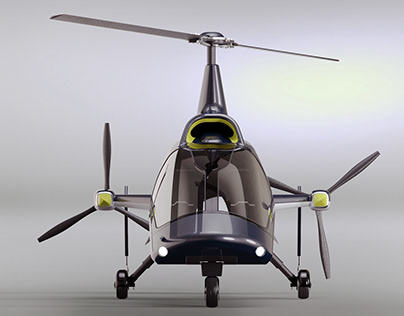 Fusioncopter - new generation of rotorcraft