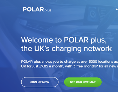 Polar Plus - Website