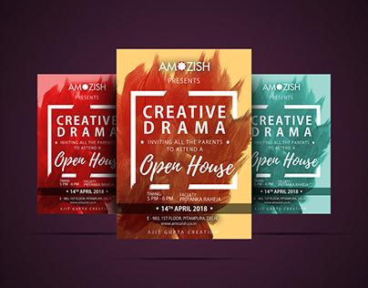 Creative Drama Poster | Amozish