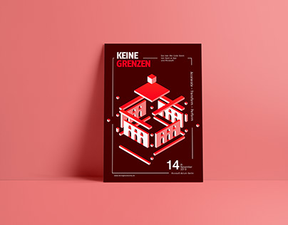 Isometric poster