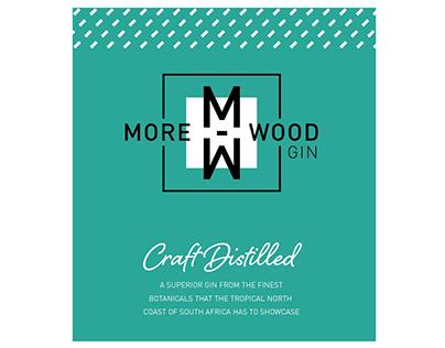 Morewood Gin Packaging Design