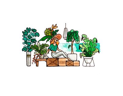 Calme végétal