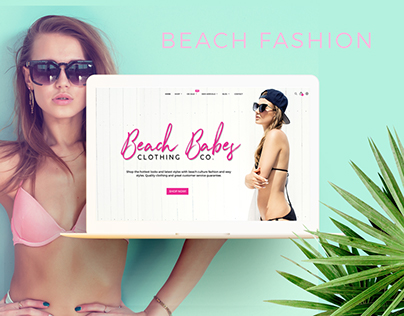 Beach Babes Clothing Co - Fashion Ecommerce Website