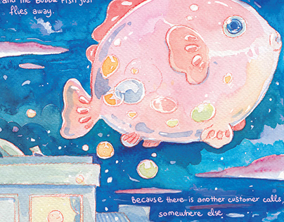Bubble Fish private room.