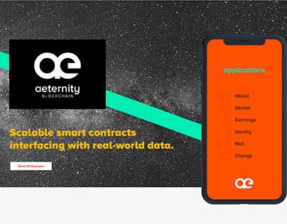 Logo & Web design for Aeternity