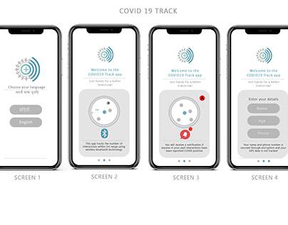 India's COVID tracker app