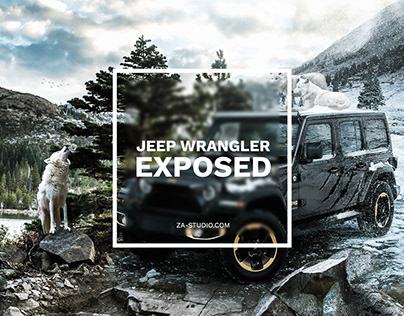 Jeep Wrangler Photo Manipulation