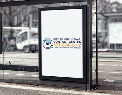 City of Columbia Contact Center Logo and Branding