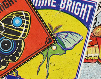 Shine Bright Matchbook