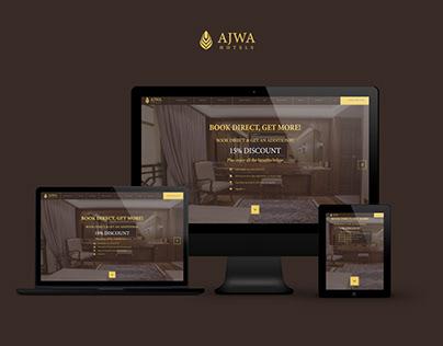 Turkish Premium Ajwa Hotels Corporate Website
