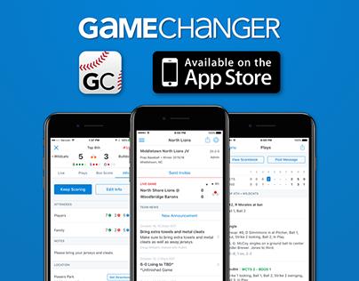 GameChanger Baseball & Softball Scorekeeper - iOS