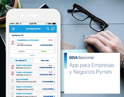 App para Empresas / UX / UI  Banking App