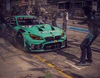 Falken Motorsport BMW M6 GT3 NÜRBURGRING