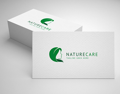 nature care logo template for sale