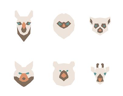 Zoo pictograms