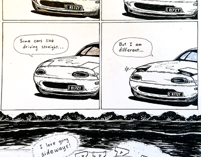 Week 3: 5 Panel Comic Strip
