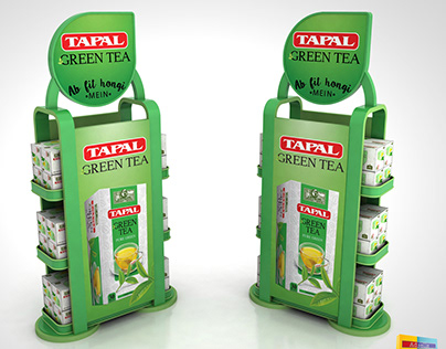 Tapal Green Tea Counter Top