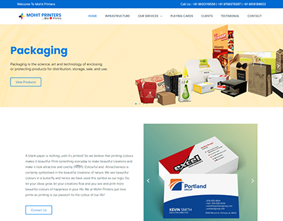 Printing Industry Website By Kazi Solution