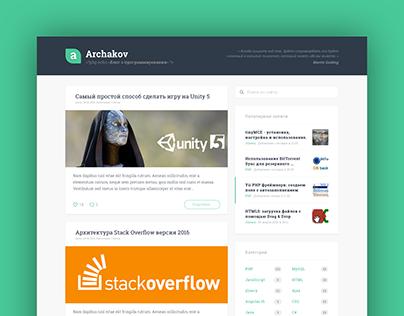 Archakov Blog