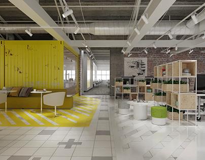 Office of IT company Cloud Castle