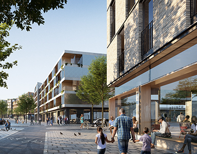 New Urban development. Stockholm.