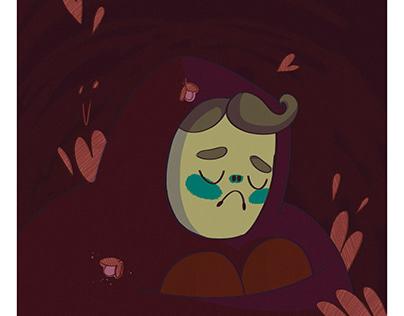 The lost boy illustration
