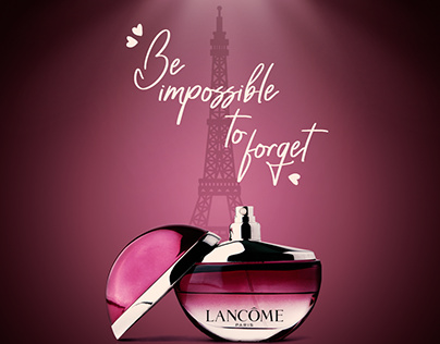 Unofficial -LANCOME- Social Media Design